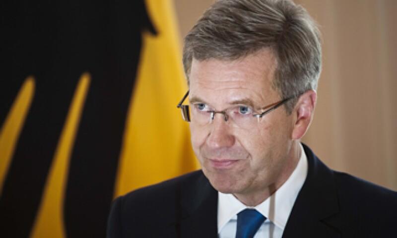 Fiscales del estado de Baja Sajonia sospechan que Wulff cabildeaba a Siemens AG para ayudar a promocionar una película. (Foto: AP)