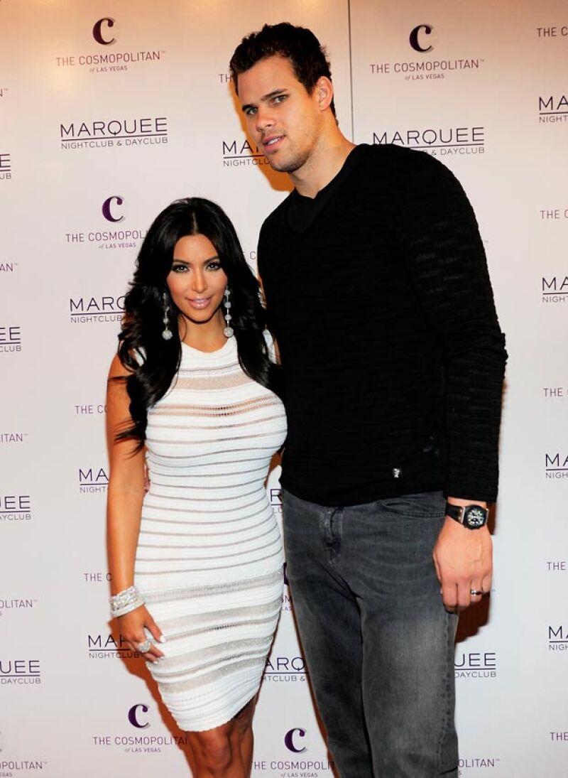 Kim fue otra de las famosas cuyo matrimonio duró mucho.