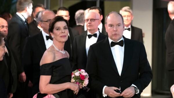 Carolina de Mónaco y Alberto Mónaco