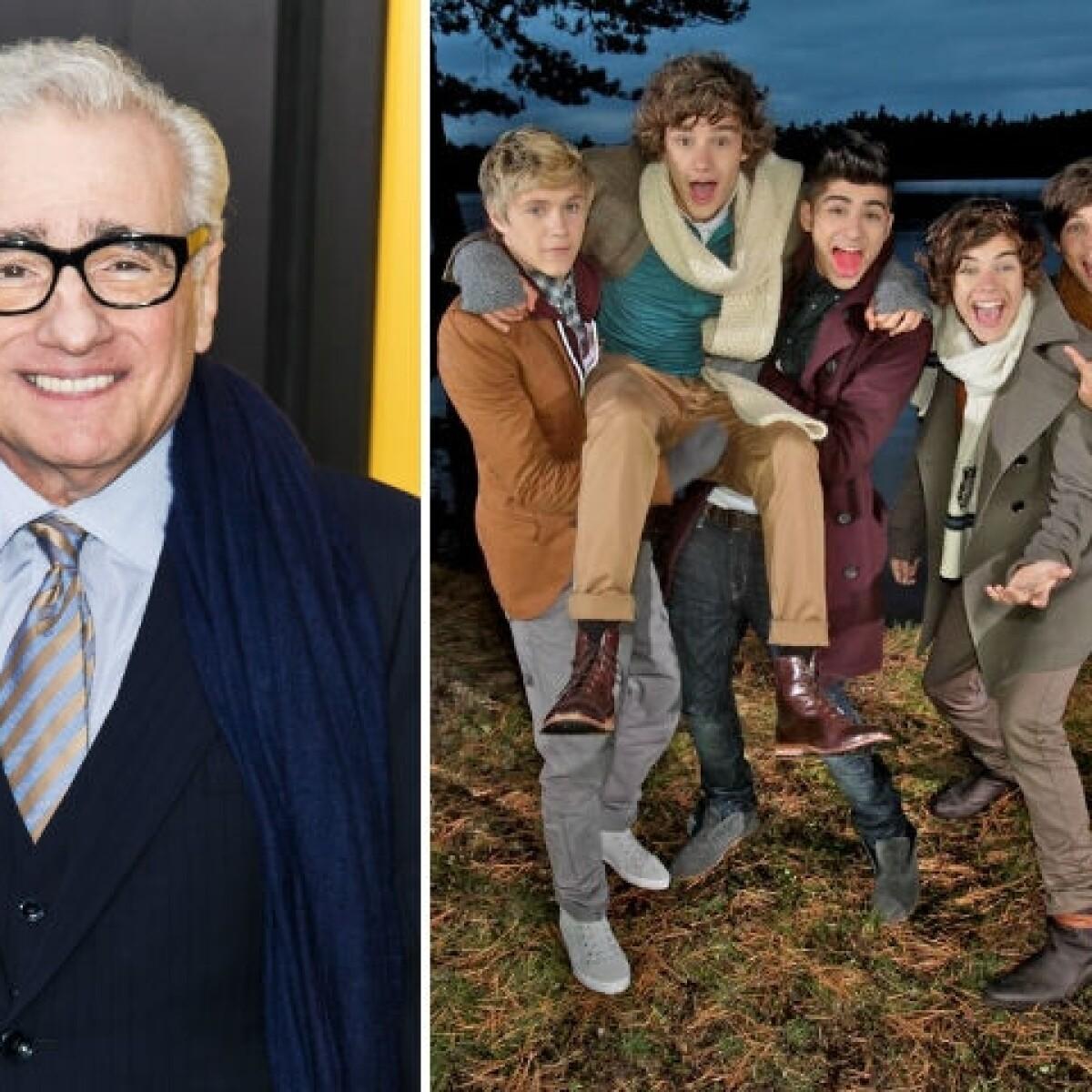 Martin Scorsese se convierte en fan de One Direction