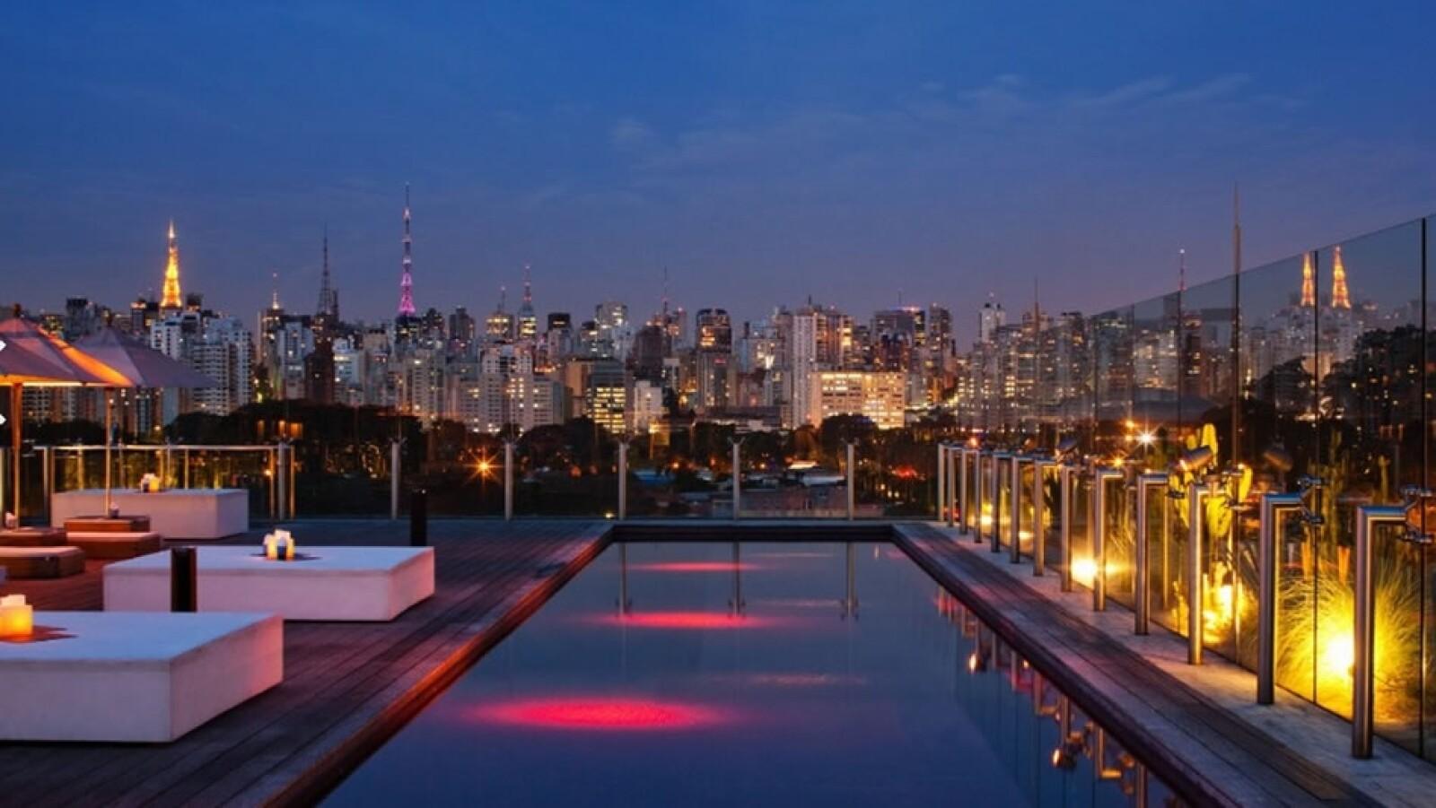 Skye Bar & Restaurante, Hotel Unique (São Paulo, Brasil)