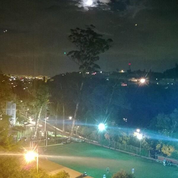 Partido futbol Santa Fe DF super luna