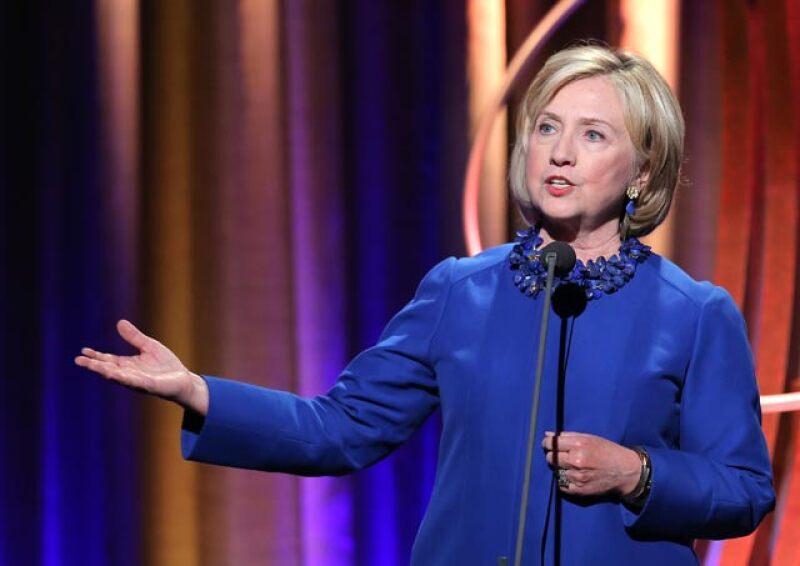 La ex secretaria de estado y esposa de Bill Clinton busca, por segunda ocasión, ser elegida para dirigir esa nación, en 2016.