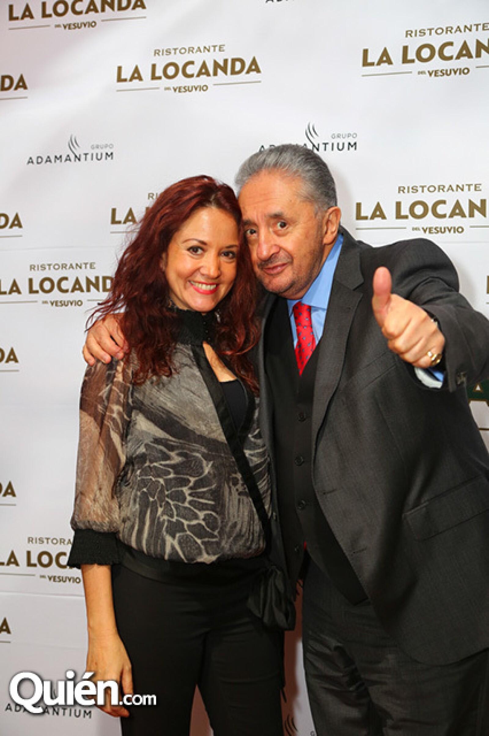Carmen Escalante y Enrique Castillo