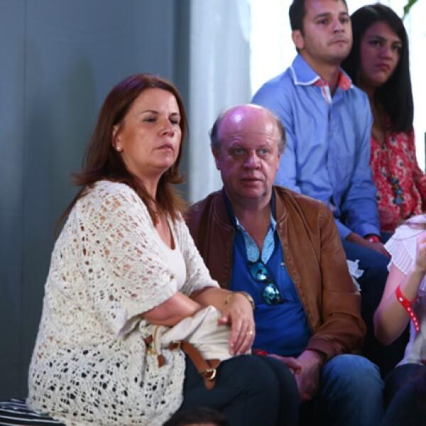 Patricia Arellano y Eduardo Solórzano