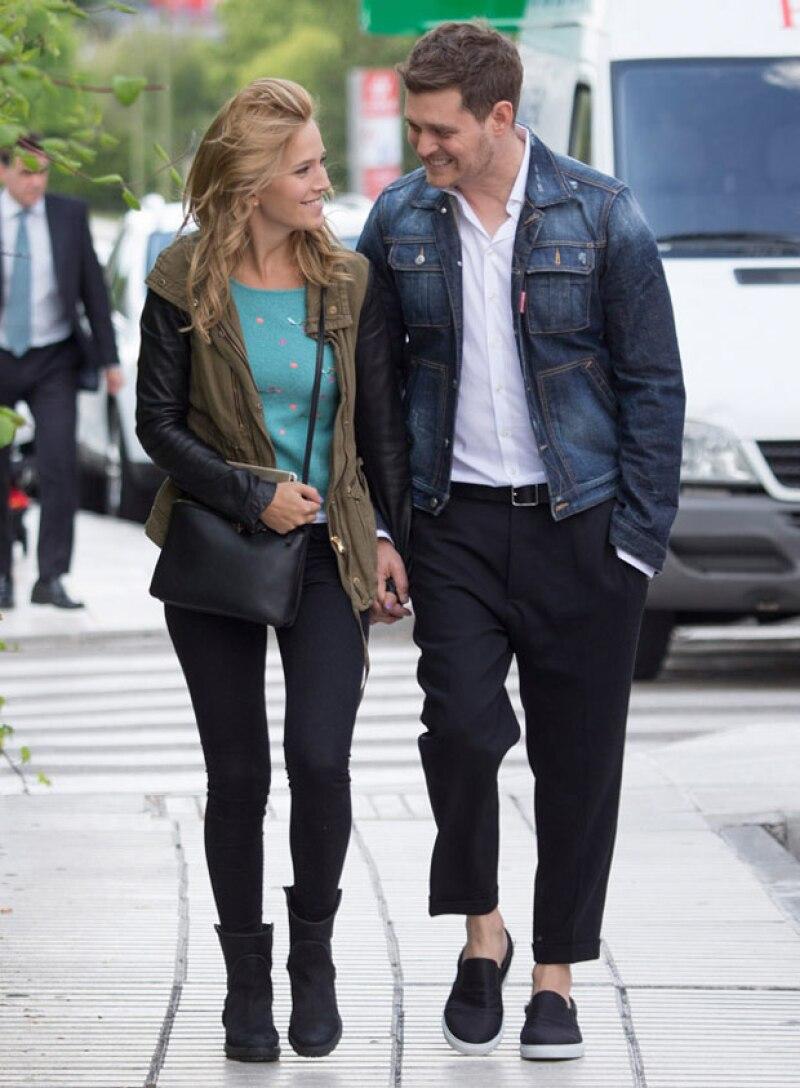 Michael y Luisana llevan cuatro años casados.