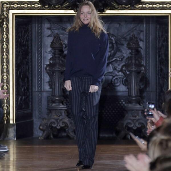 La hija del ex beatle, Paul McCartney, fue ovacionada por sus diseños.