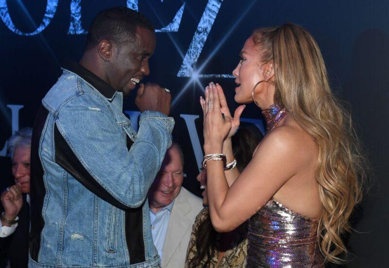 Jennifer Lopez y Diddy