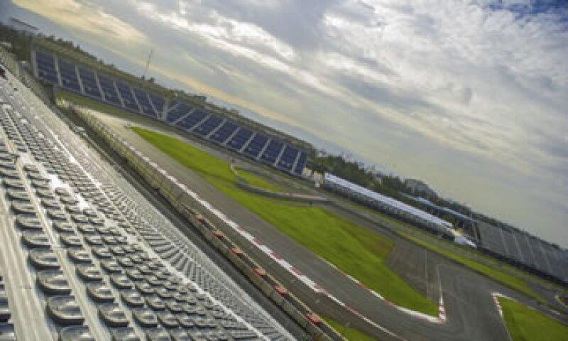 El Autódromo Hermanos Rodríguez fue renovado para recibir el Gran Premio de México este fin de semana (Foto: Cuartoscuro/Archivo)