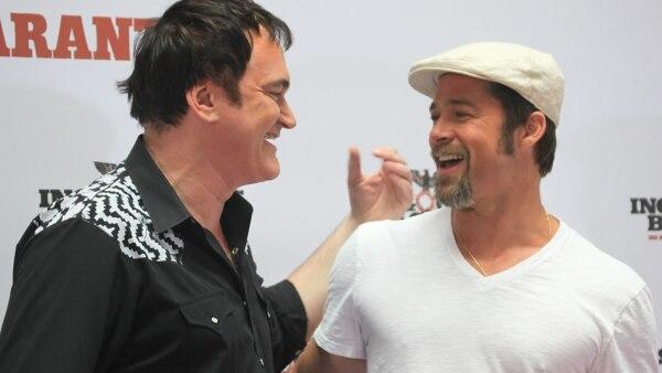 Tarantino y Pitt