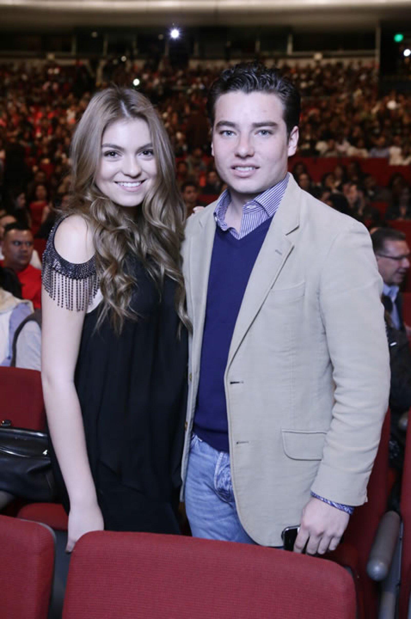 Sofía Castro y Jorge Alvarez.