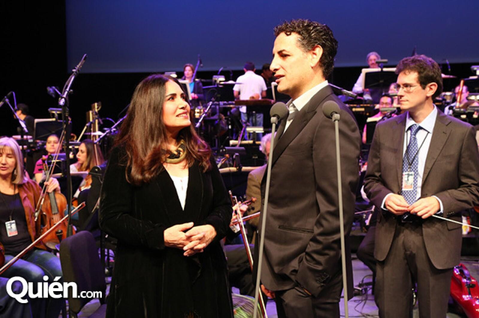 Tania Libertad y Juan Diego Florez
