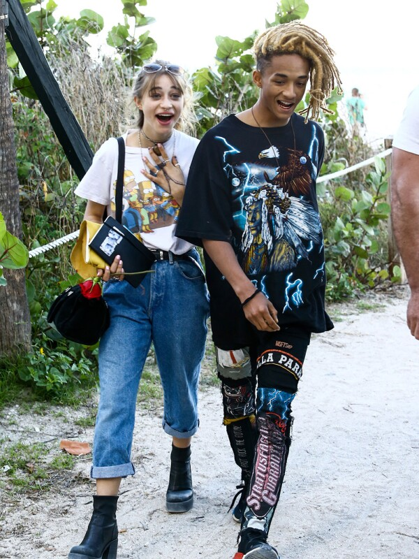 Jaden Smith y Odessa Adlon