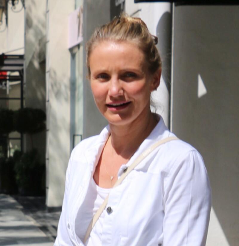 La actriz habñia confesado que ni con maquillaje ha podido ocultar su problema.
