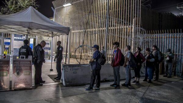 puerton fronterizo méxico-eu