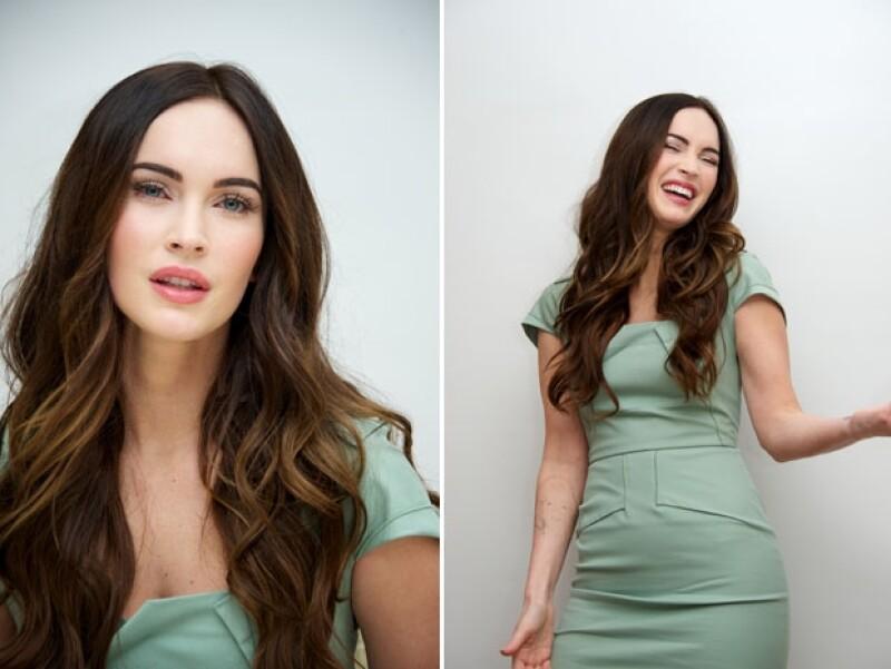La actriz luce igual de espectacular que antes de tener a su bebé.