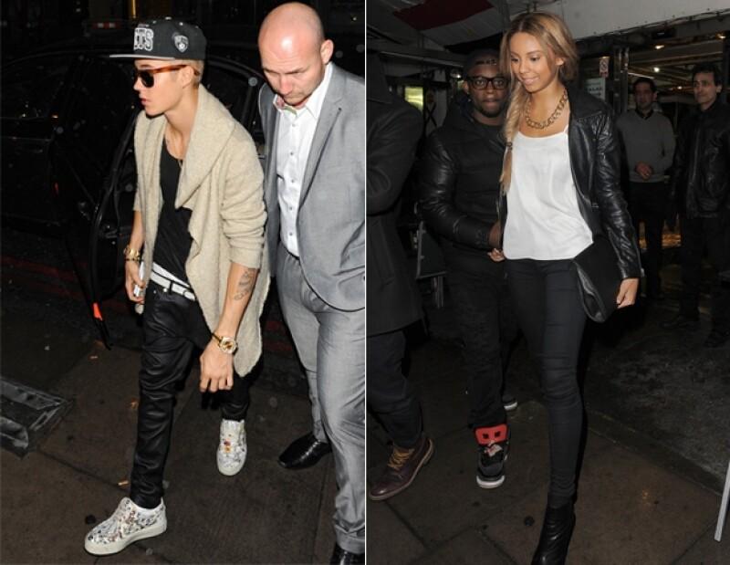 Justin estuvo acompañado toda la noche por Ella Paige, su supuesta nueva novia, que también lo acompañó a comer Kebabs.