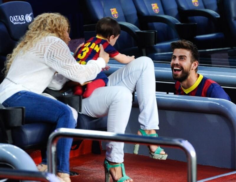 Shakira y Piqué han demostrado mediante sus redes sociales lo mucho que quieren a su primogénito.