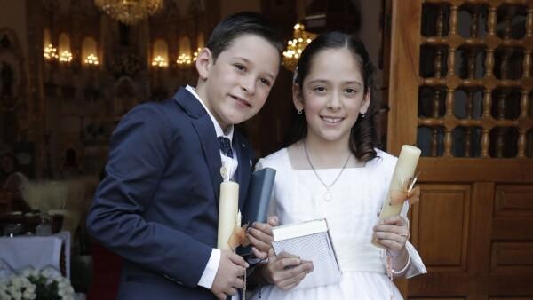 Primera comunión Silvana y José Adolfo Murat