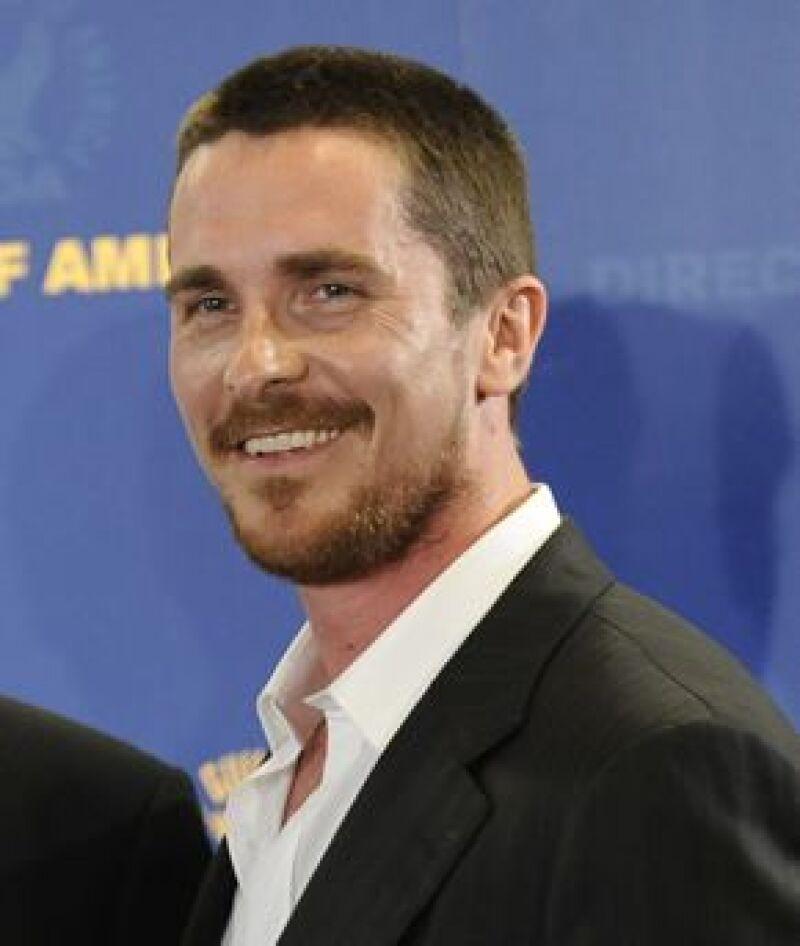 El actor fue grabado en un momento de furia durante la filmación de Terminator Salvation.