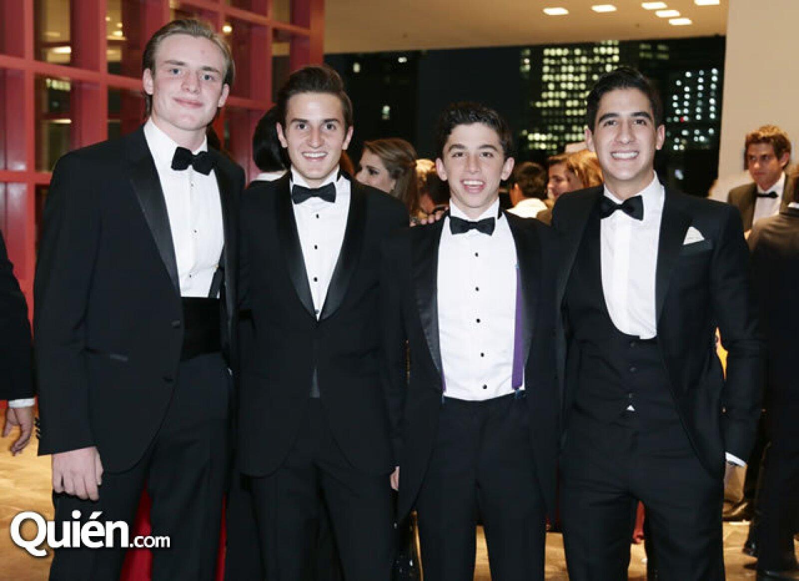 Emilio Rivera Torres,Thomas Pietrini,Manuel Afif,Pablo de la Mora
