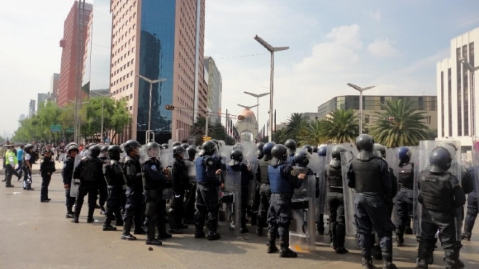 protesta _toma de posesión_ Peña 36