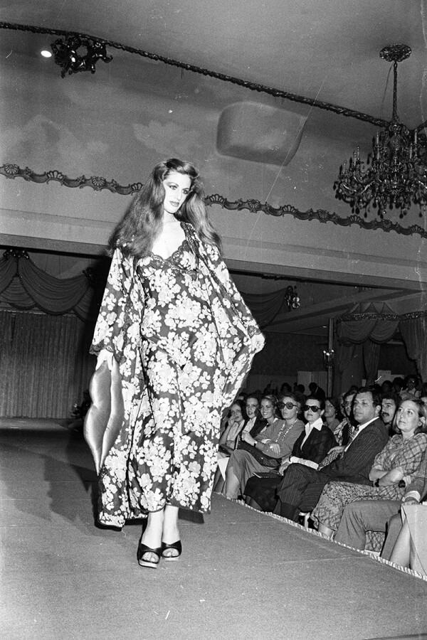 Diane von Furstenberg Fall 1976 RTW, New York