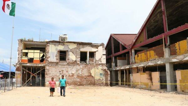 Reconstrucción en Tehuantepec