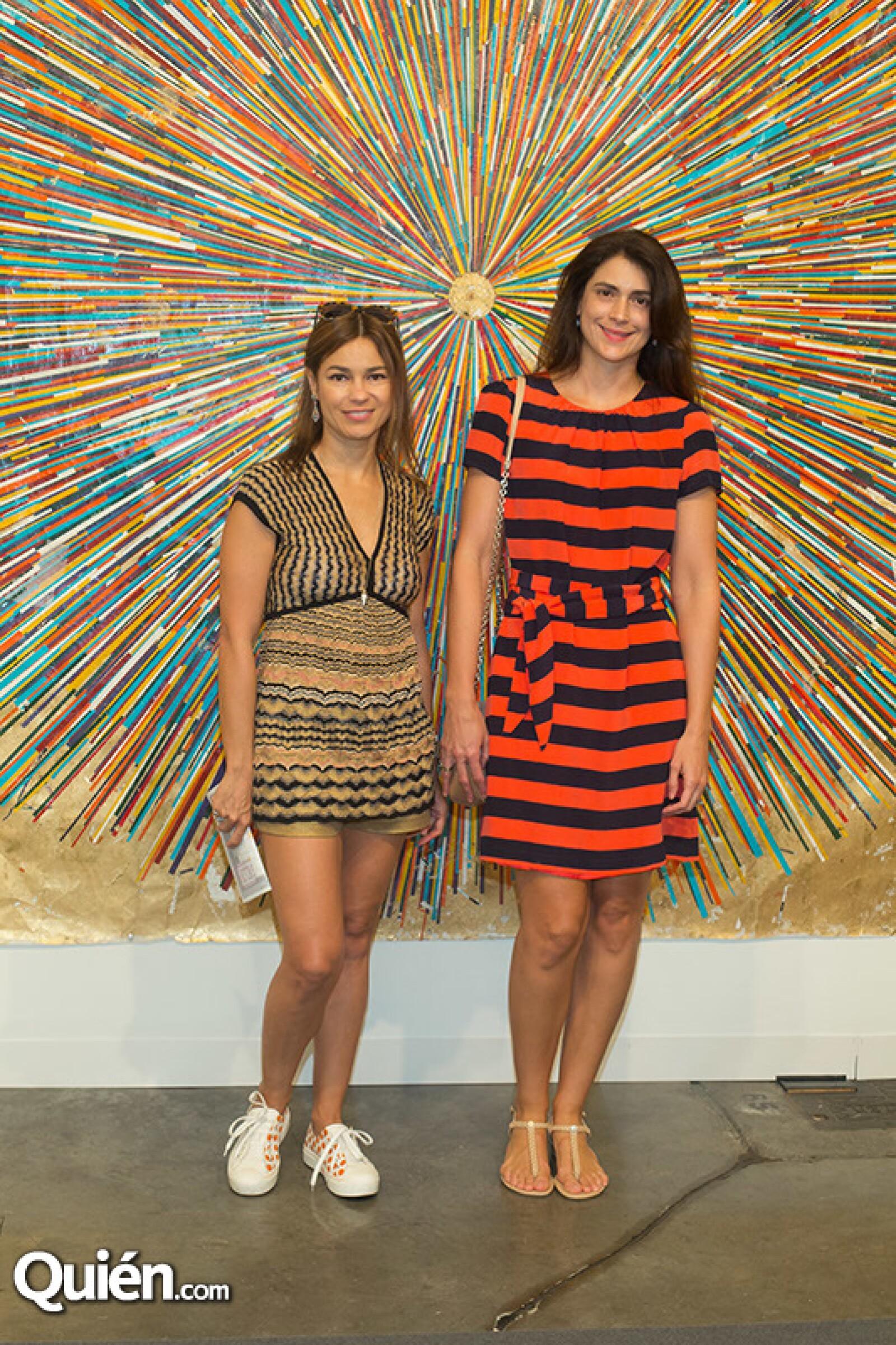 Patricia Bassiel y Margarita Daza