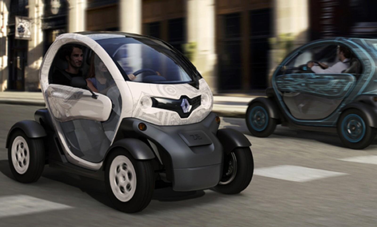 La venta de Kangoo Z.E. y Twizy Z.E. se realizará con base en las solicitudes a Renault de clientes empresariales.