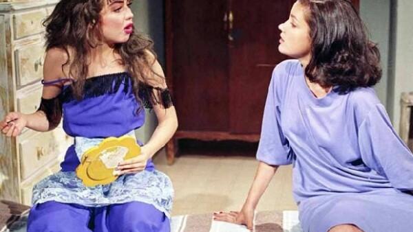 """Las actrices compartieron grandes momentos de su carrera artística. Ambas obtuvieron el reconocimiento del público gracias a la telenovela """"María Mercedes""""."""