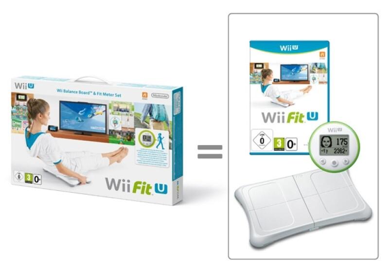 ¡Ponte en forma con un Wii Fit U!