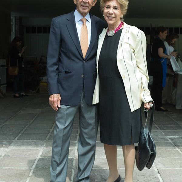 Manuel Arango y Mirella Terán