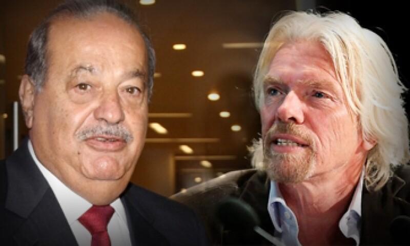 Carlos Slim y Richard Branson tienen ideas revolucionarias sobre las jornadas laborales. (Foto: Especial)