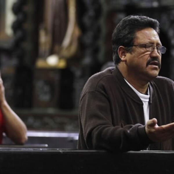 hombres oran tras el nombramiento de franscico