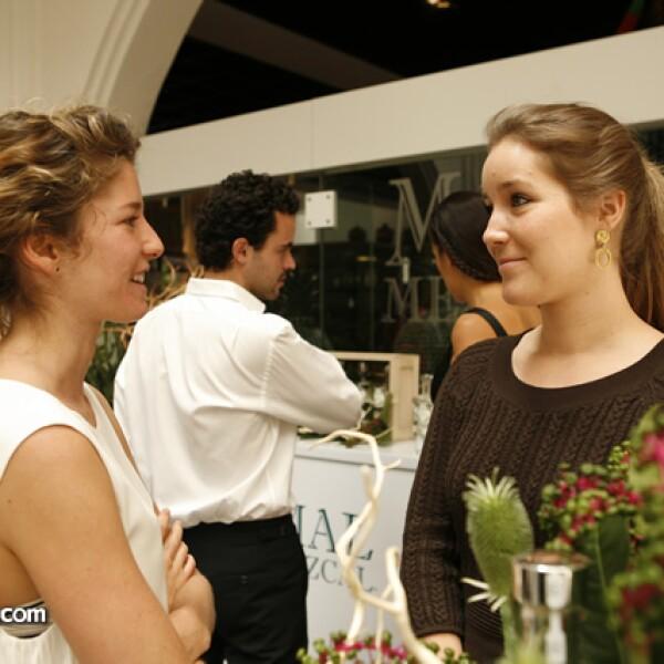 Ana Bouffier y Tatiana Johannsen