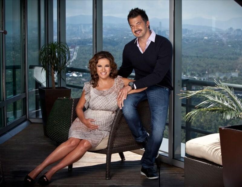 Ingrid y Fernando eran los mejores amigos antes de ser pareja.