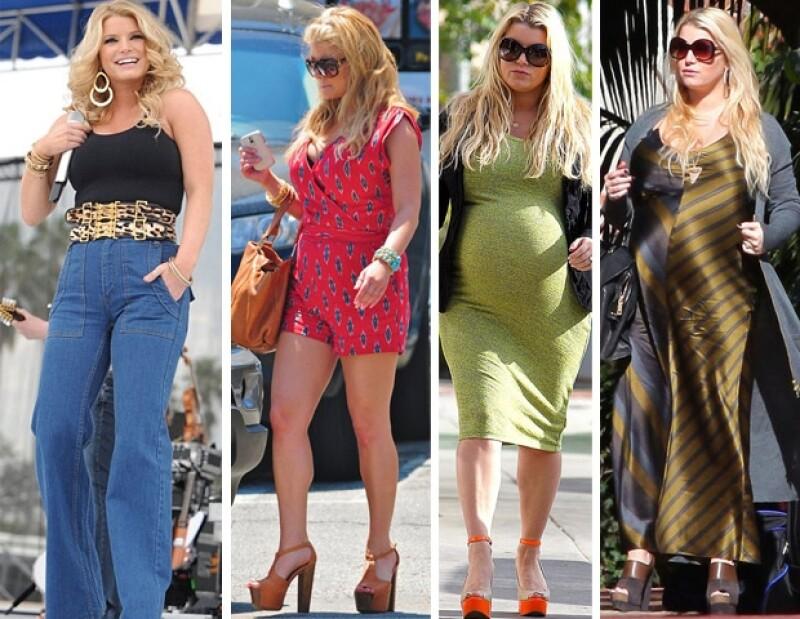 El paso de los años, la falta de una alimentación balanceada y un estilo de vida saludable llevaron a Jessica Simpson a transformar su apariencia.