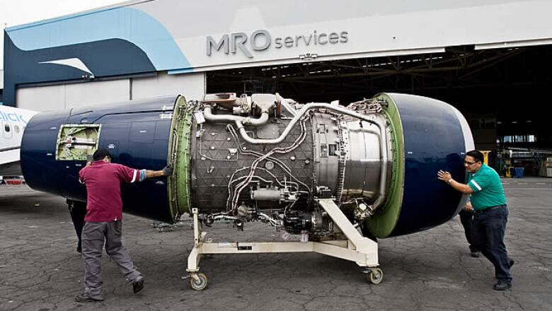 Las turbinas suelen repararse en, al menos, 2 meses si están en muy mal estado.