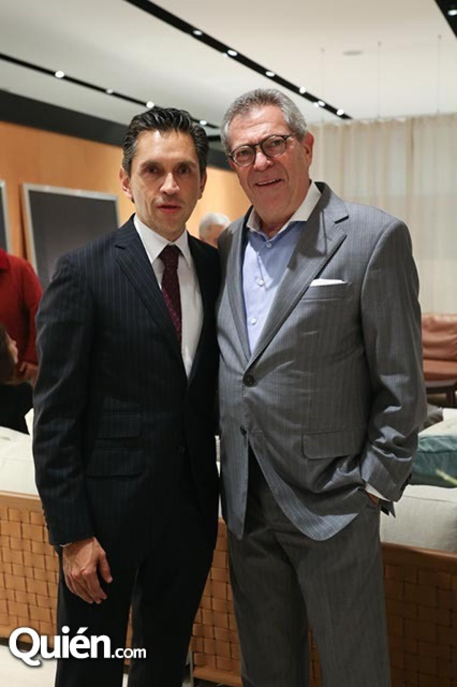 Óscar Villarreal y Ary Magun