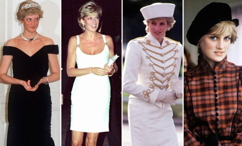 Sin importar qué outfit se pusiera, la princesa Diana siempre lograba destacar con su peculiar estilo.