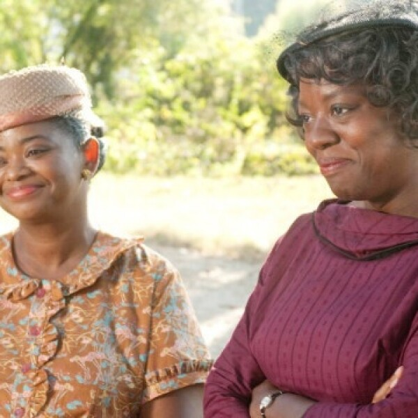 Octavia Spencer Viola Davis the help