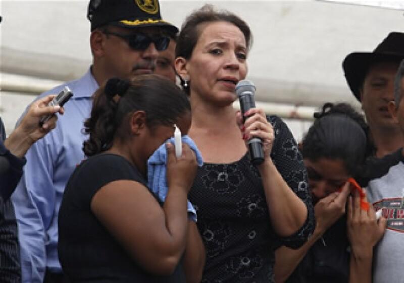 En la marcha realizada este sábado en Tegucigalpa, participó la esposa del presidente derrocado, Xiomara Zelaya. (Foto: Reuters)