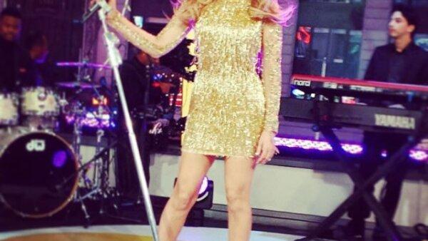 Thalía fue una de las invitadas principales al Teletón USA.