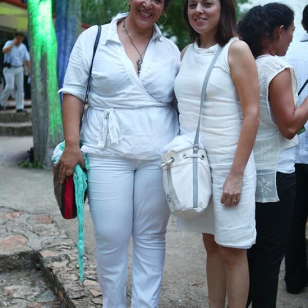 María Eugenia Guerrero y Eunice Pérez