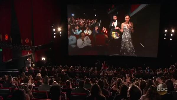 La sorpresa al público durante los Oscar 2018