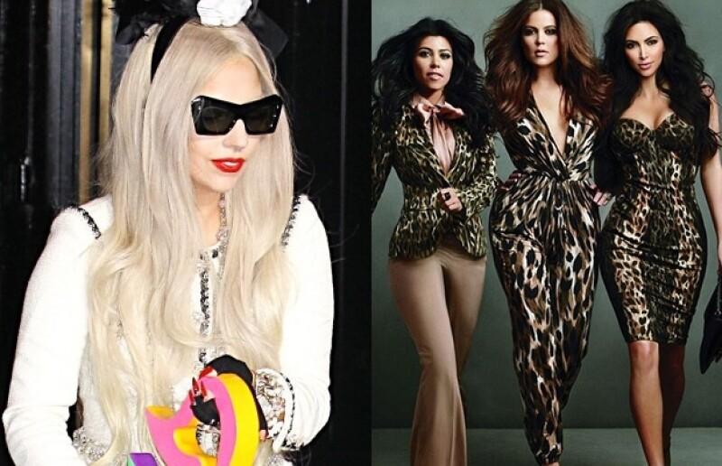 Lady Gaga y las Kardashian acapararon los medios.