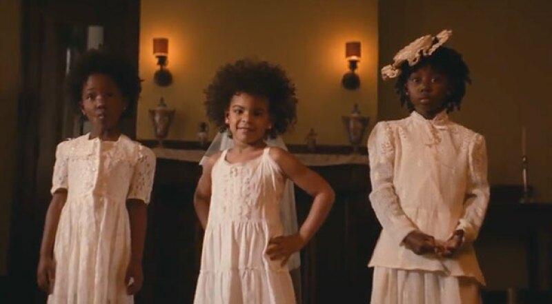 Blue Ivy hace su debut en el video de su mamá.