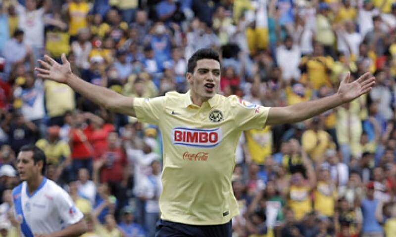 Jiménez debutó en 2011 con el Club América. (Foto: Cuartoscuro)