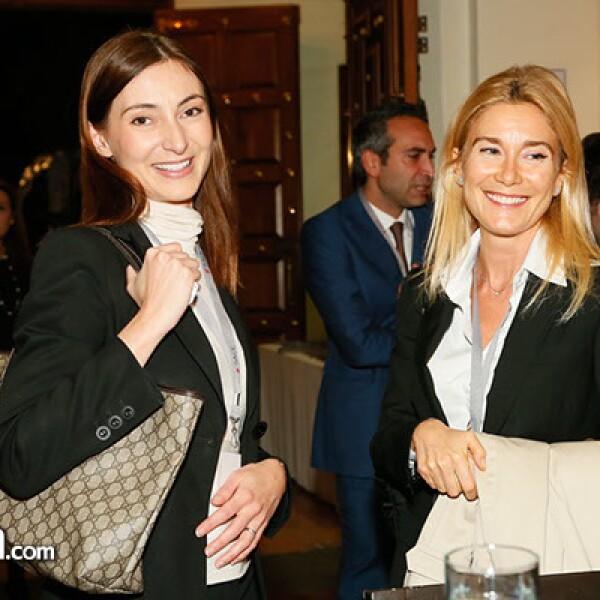 Francesca Blasone y María Grazia Sonzogni